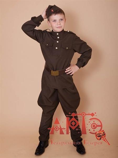 Детские маскарадные костюмы на военную тему