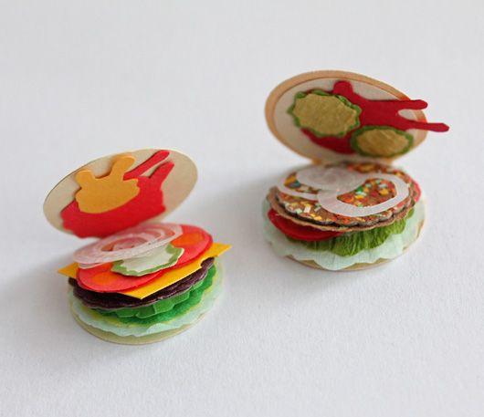 Paper Burger / Stephanie Anderson