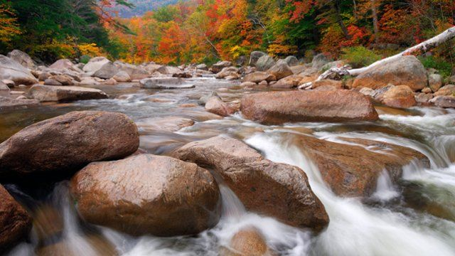 Webshots - Swift River in Autumn, White Mountains National Forest, New Hampshire