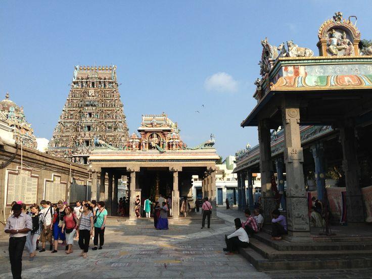 Kapaleeswarar Temple in Chennai, Tamil Nadu