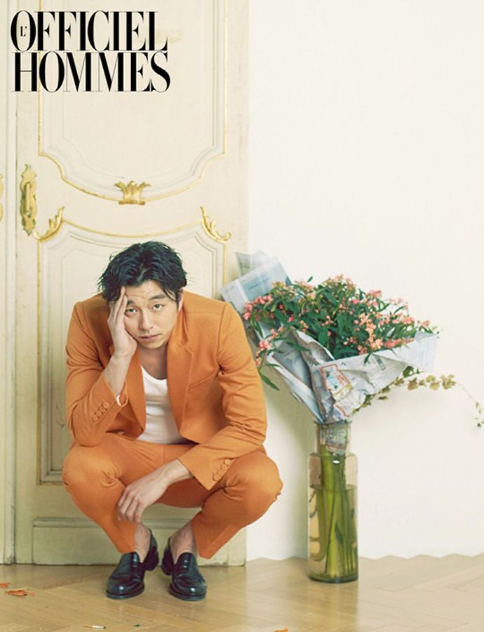 Gong Yoo in L'Officiel Hommes January 2013