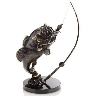 Largemouth Bass Sculpture