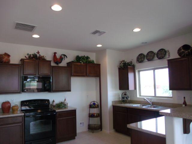 Kitchen in Dorn Homes' Chardonnay model at Bella Vista North