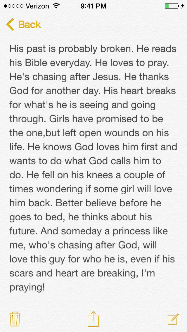 Boyfriend prayer/note prayer ❤️