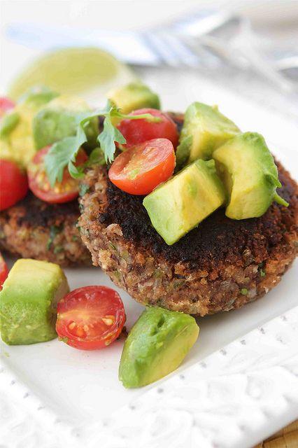 101 Cookbooks' Vegetarian Lentil Burgers Cooking Books' Sweet Potato & Black Bean Cakes Lisa's Kitchen's Black-Eyed Pea Patties with Chili S...