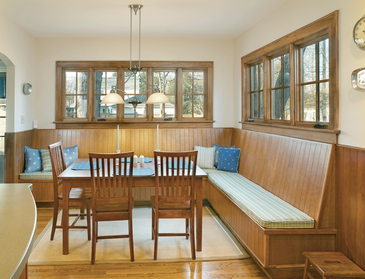Custom Banquette Seating For An Upper Arlington Ohio