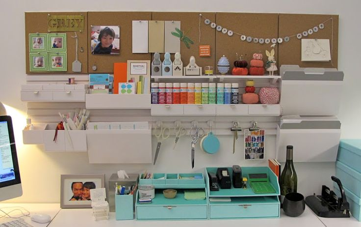 Pinterest the world s catalog of ideas - Martha stewart desk organizer ...