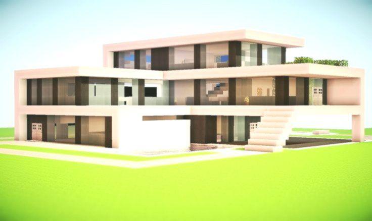 modern minecraft mansion designs