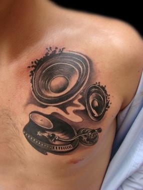 best 25 dj tattoo ideas on pinterest music logo cd music and semper fi tattoo. Black Bedroom Furniture Sets. Home Design Ideas