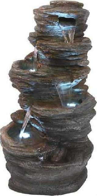Best 25 fuentes de agua ideas on pinterest diy for Cascada de agua para jardin