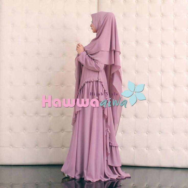 New Women's Long Jilbab Hijab KHADEEJA SYAR'I Syar'i Set Khimar Islamic - Dresses