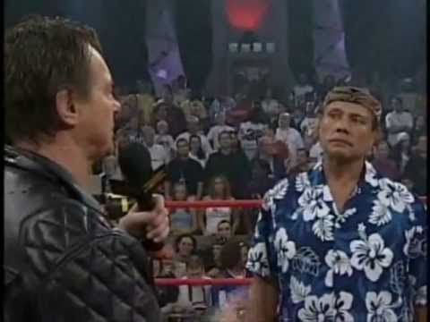 """Jimmy Snuka on Roddy Piper's """"Pipers Pit"""" (November 7th 2004)"""