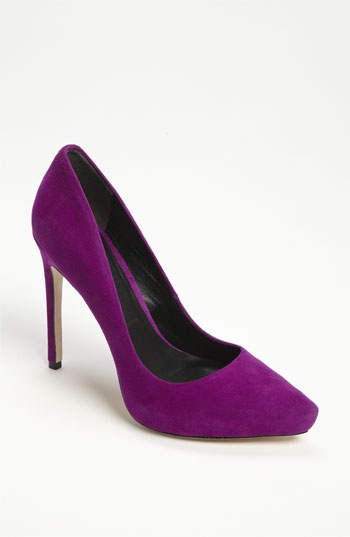 Rachel Roy 'Gardner' Pump Nordstrom $225 OMG...Have to Have!!!Pretty Purple, Gardner Pump, Gorgeous Colors, Purple Suede, Pop Of Colors, Fall, Rachel Roy, Roy Gardner, Suede Pump