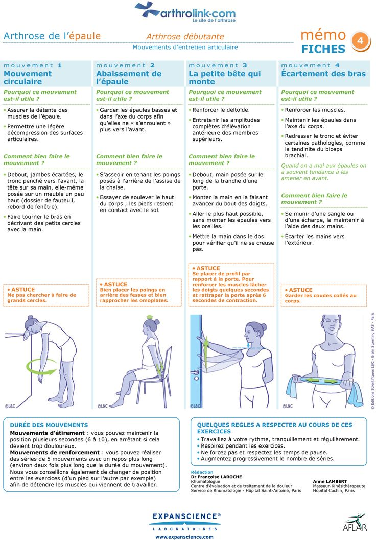 1000+ images about Entretien des articulations : Exercices