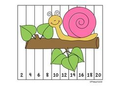 These FREEBIE number puzzles are great for students to practice ordering numbers and can be used at your centers or as an activity to enhance your small learning group. I like to have these sitting at my small math group table and students get started on these as everyone arrives. They are self corrective so they can be used individually or in the small group.