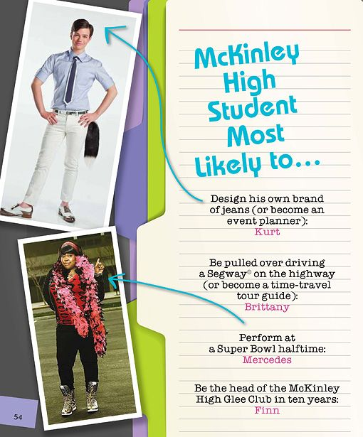 'Glee' to release 'The Official William McKinley High School Yearbook' in May