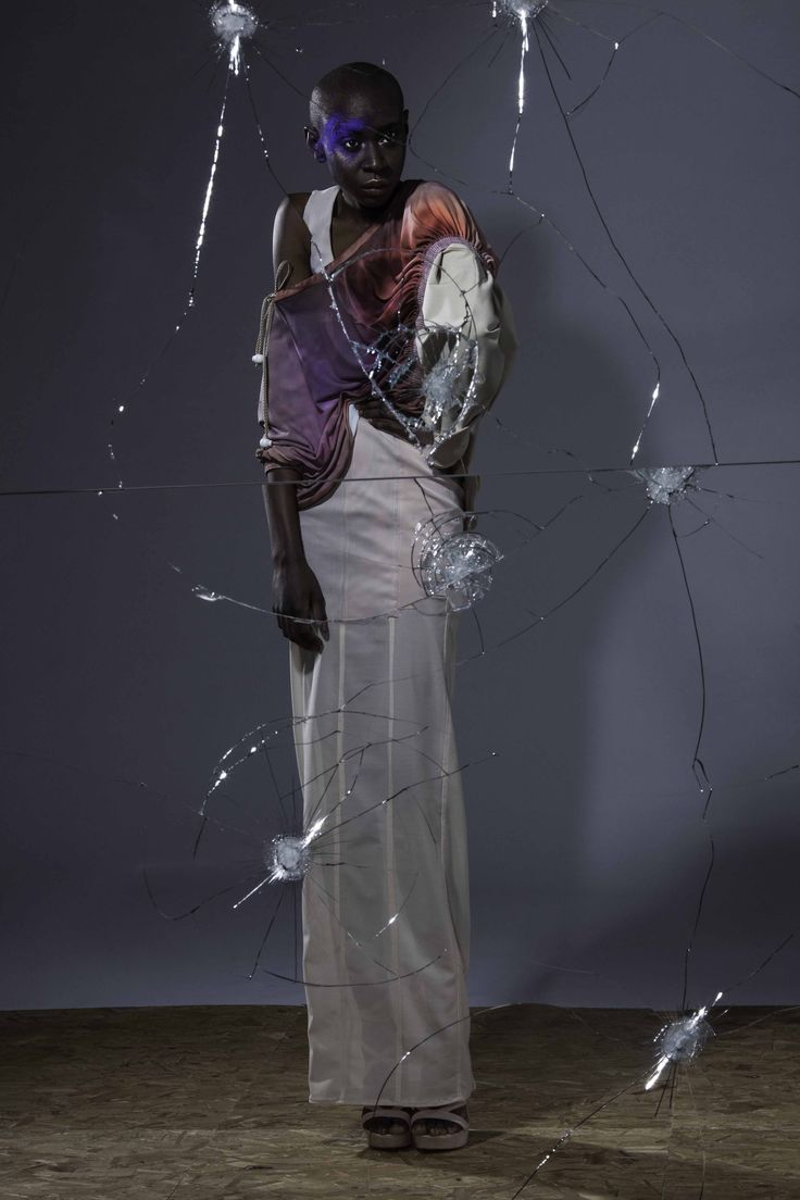 Designer Temitope Ogatimirin, Fashion Design BA (Hons) 2016