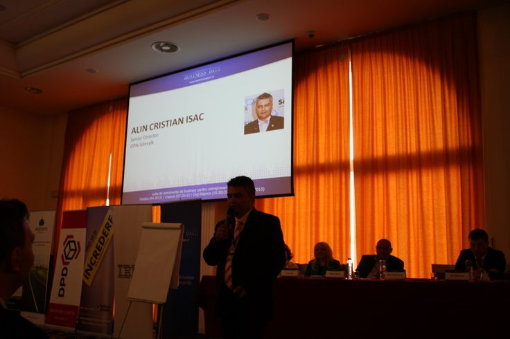 Speaker at Business Days Cluj Napoca