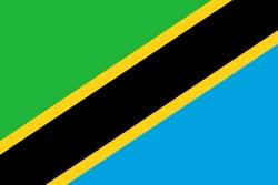 Republic of Tanzania Flag