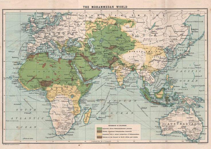 The Story of Islam - Church Missionary Society - 1909 The Mohammedan World [2000 x 1421]