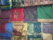 Saris indios/vestido de material