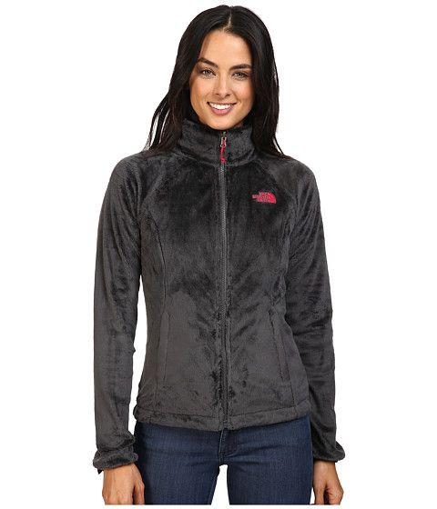 The North Face Boundary Triclimate® Jacket Asphalt Grey/Cerise Pink - 6pm.com