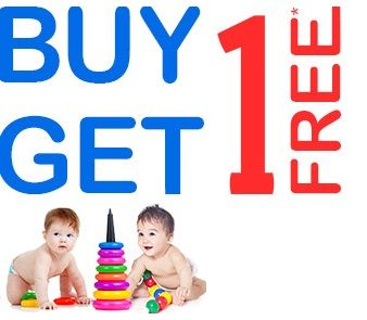 firstcry is offering Buy one Get one free on toys How to catch the offer: Click herefor offer page Add Productin your cart Login or Register Apply offer code B1G1TOYS Fill the shipping details Make final payment