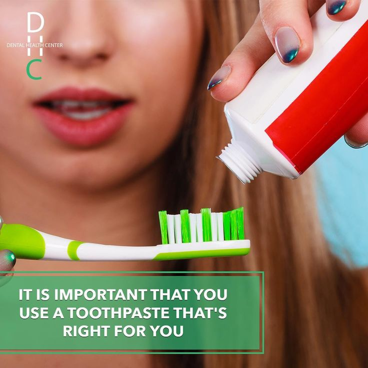 Today there is a wide variety of toothpaste designed for many conditions including cavities gingivitis tartar stained teeth and sensitivity. Be careful with the toothpaste you use!