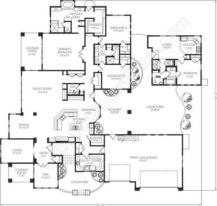 118 best House plans images on Pinterest | House blueprints, Floor ...