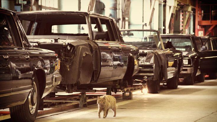 Inside a Russian car factory