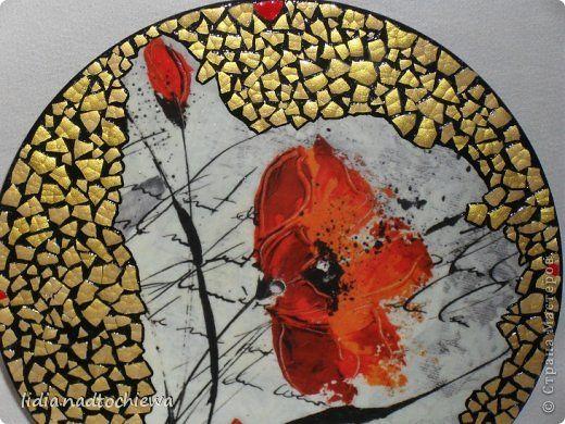 яичная скорлупа мозаика -