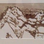 Elisabeth Cummings - 2008- From Split Rock -Ink on paper - image 28x32cm - framed 38x42cm $2200 Cummings - 2008-From Split Rock -Ink on paper28x32cm image framed 38x42cm