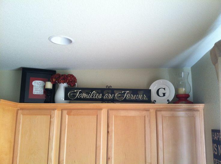Best 25+ Decorating above kitchen cabinets ideas on Pinterest - decorating ideas for kitchen