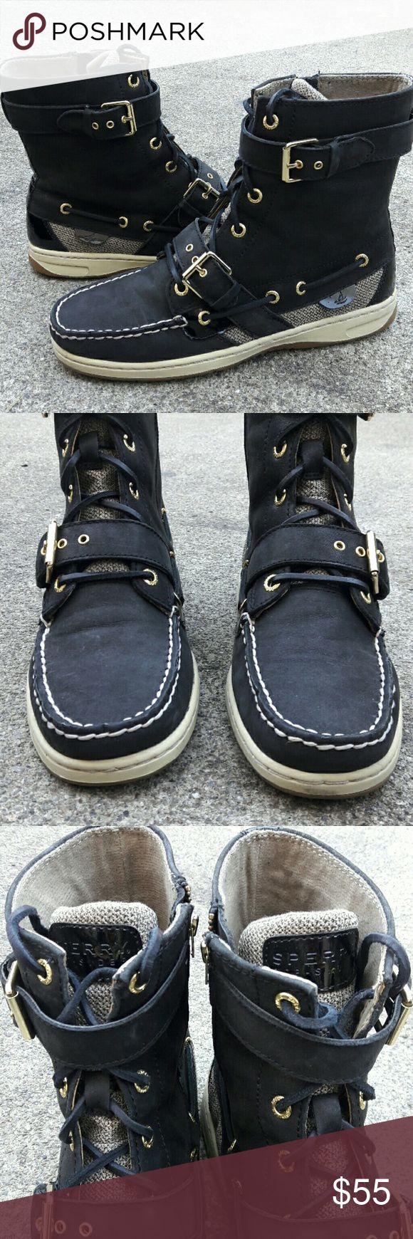 ☄🌟🎉🎉HOST PICK!!!🎉🎉🌟❤☄Sperry top-sider boots In great condition wore only a few times inside office.  Checkout my listings for more awesome stuff! ? Sperry Top-Sider Shoes Ankle Boots & Booties
