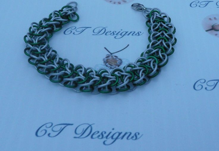 Bracelet Elfweave chainmaile by CTDesigns2 on Etsy
