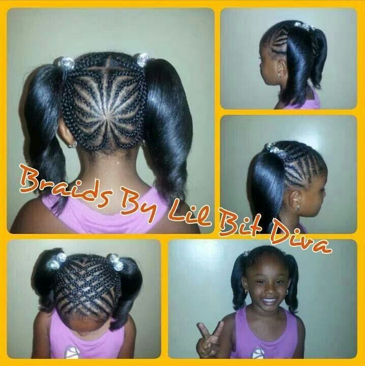 Miraculous 1000 Images About Cute Hairstyles For Little Girls On Pinterest Hairstyles For Women Draintrainus