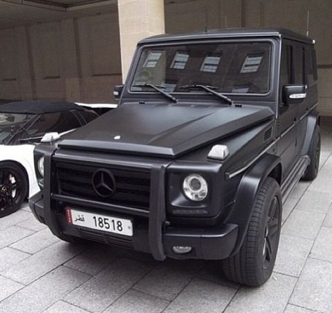Matte black g63 dream cars pinterest g class for Matte black mercedes benz