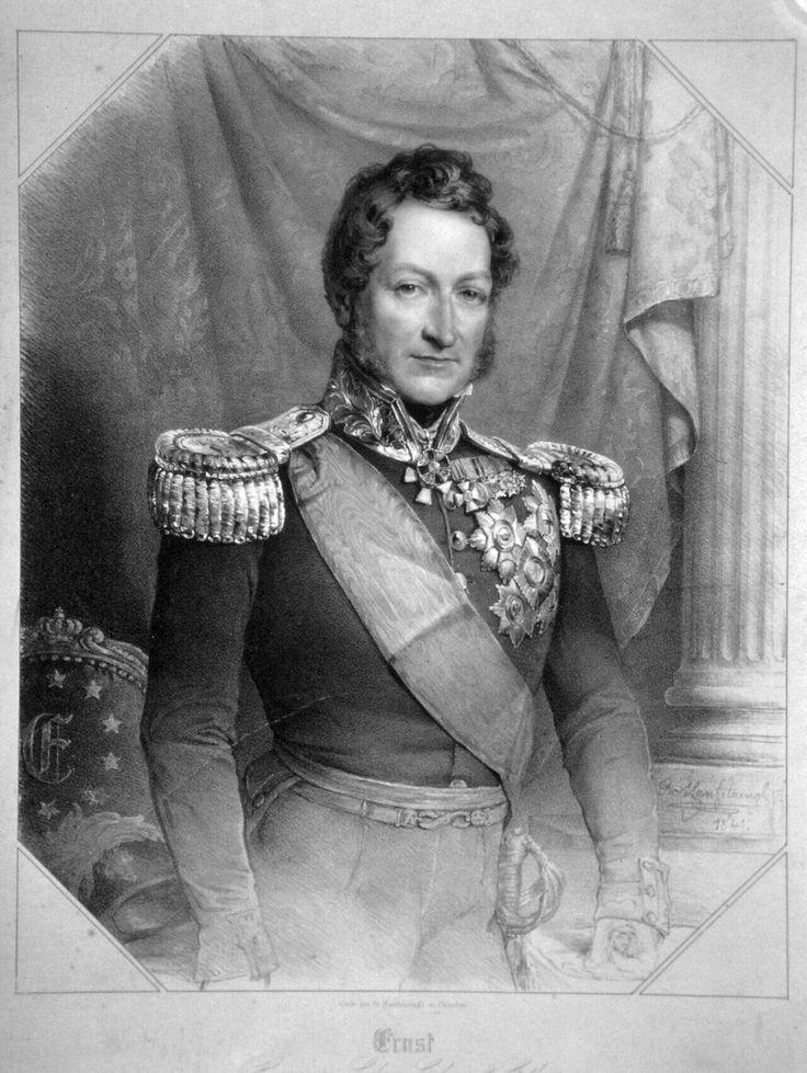 Herzog Ernst von Sachsen-Coburg und Gotha, Vater von Albert und (Ehemann von Viktoria)