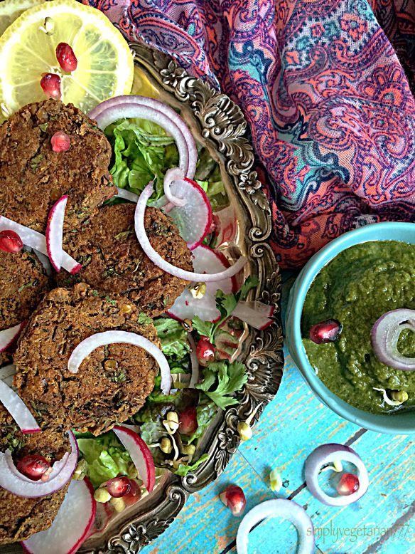Kamal Kakdi & Masoor Shami Kebabs - Diabetes Friendly Thursdays - simplyvegetarian777