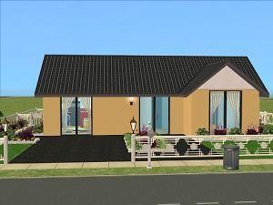 Mod The Sims - Ranch Retreat 2BD 1BA Maxis Makeover