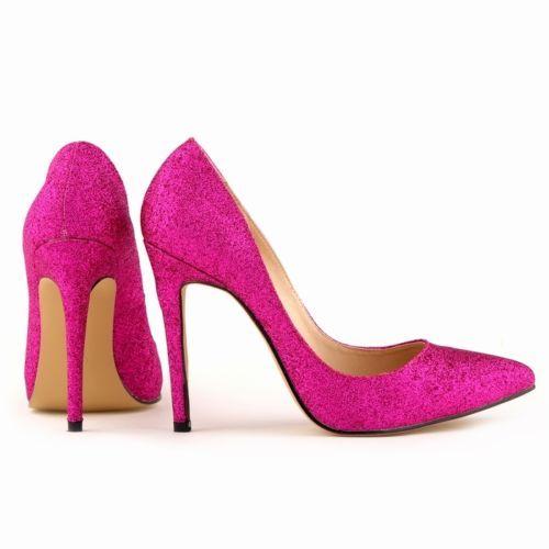 Zapatos stiletto en rosa brillantina en subasta low cost, con ENVIO GRATIS!!!   Hazte con ellos   http://moda.bioargannature.com/auctions/?ult_auc_id=475  #tacones #zapatos #botas #barato #online #rosa #estilo #comunion #boda