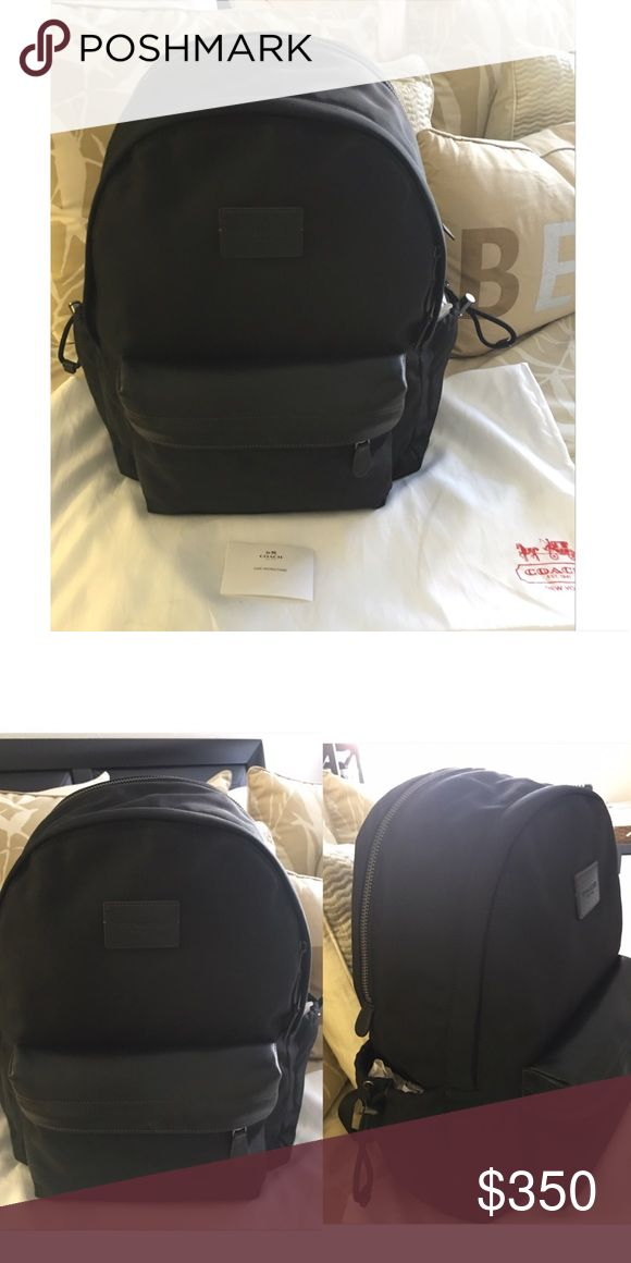 Coach backpack New. Never used. Still has tissues inside. Super cute and perfect for school or traveling. :) Coach Bags Backpacks