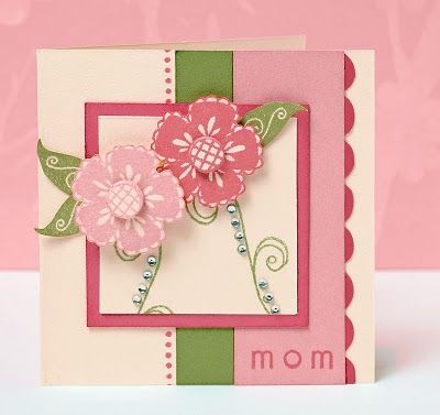 Mother's Day card idea. CTMH