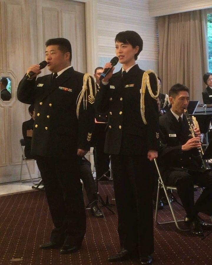 Sachiko On Instagram 昨日は海上自衛隊 東京音楽隊の音楽祭へ行ってきました 今年も素晴らしい音楽祭でした 初めて行った同伴者の職場の大先輩は感動して涙を流していました やっぱり川上良司さんと三宅由佳莉さんの歌声は最高です