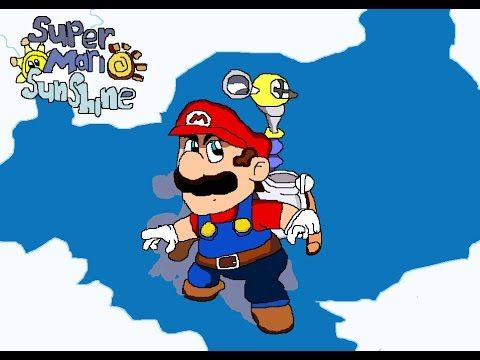 Dam! And I was just about to ride that Yoshi, too! [Super Mario Sunshine...