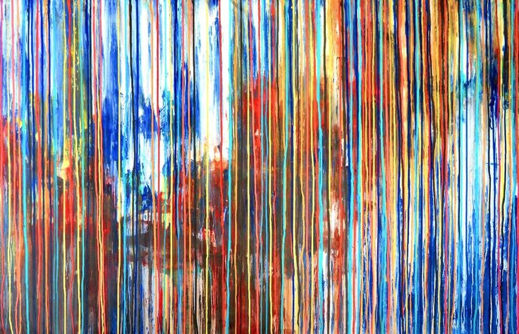 The Emotional Creation #112, SPECIAL DEAL, valid to November 27, Large Abstract Painting - Full-frontal image, unframed