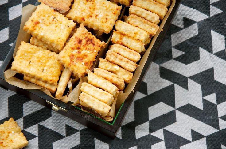 crustycorner: Úplně jednoduché sýrové sušenky