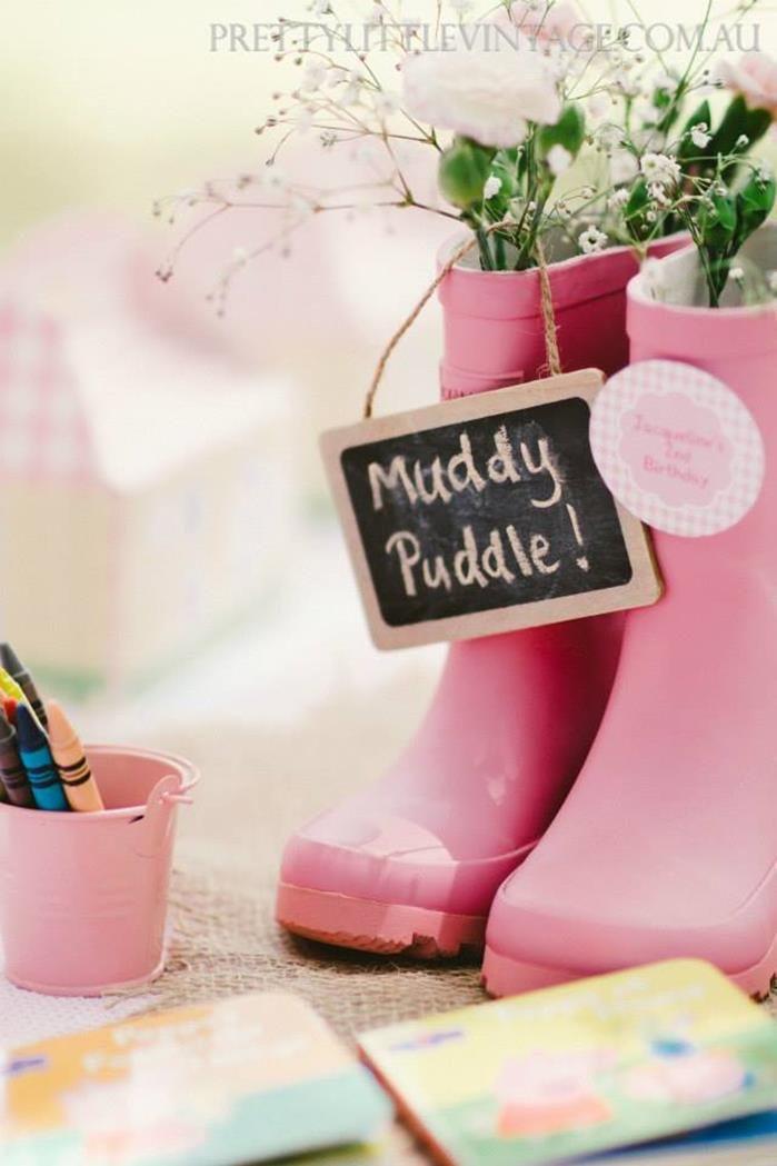 Princess Peppa's Picnic Party with Lots of Really Cute Ideas via Kara's Party Ideas KarasPartyIdeas.com #PicnicParty #PeppaPigParty #PartyIdeas #Supplies (29)