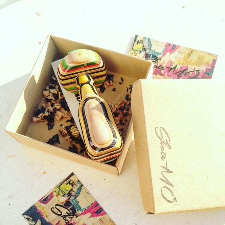 Custom skate stamps! 100% handmade by skateboard decks!