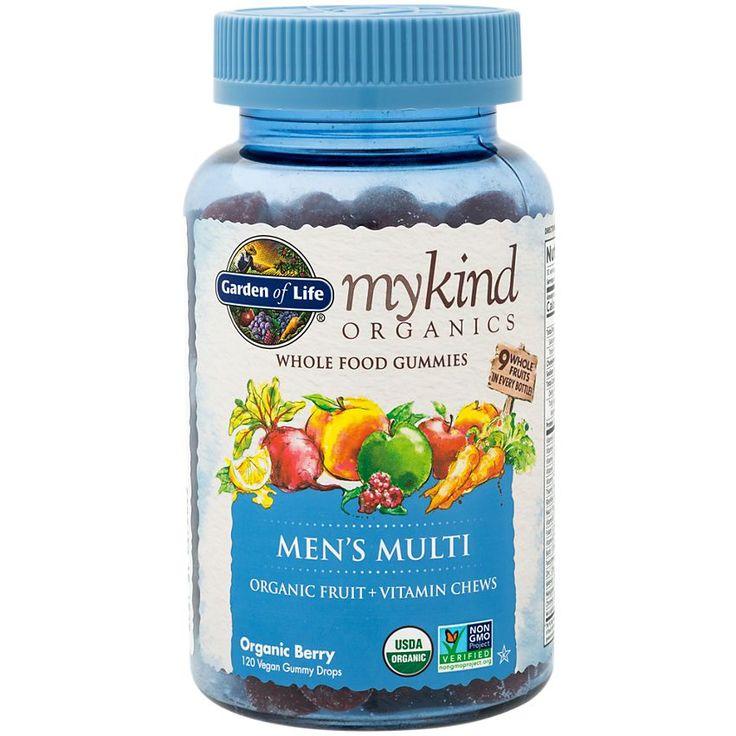 My kind organics mens multi berry 120 gummies by